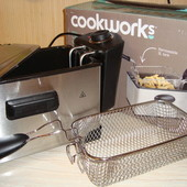 Професиональная Фритюрница cookworks