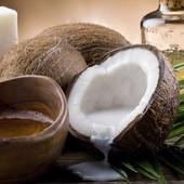 Натуральне кокосове масло для тіла та для волосся РДО 1 літр