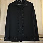 Очень красивая блуза вышитая бисером Marks & Spencer