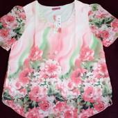 Последняя! Красивая шифоновая блуза, в лоте блузка на фото 1
