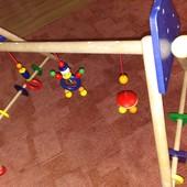 Разборной компактный деревянный игровой центр-ходунки. УП 0 грн(см условия акции))