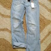 Мега стильные джинсы бойфренды Next, размер EUR38 (рост 170+). Дорогой сток!