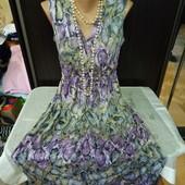 Шикарное  красивенное платье в пол. По бирке М.