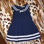 Очаровательное, милое платье М&S для девочки 4-5лет. Состояние отличное.