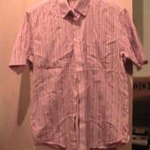 Италия!! отличная рубашка тенниска М 39-41