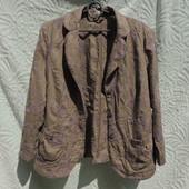 100 % лен летний пиджак Atelier состояние отличное