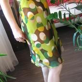 Яркое легкое воздушное платье на лето р S M  в очень хорош сост. Можна на мореж