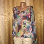 Качество!!! Шикарнейшая свободная блузочка от бренда Ned
