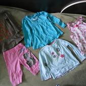Пакет вещей для девочки 2-4 года.