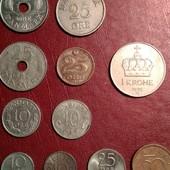 Европейские монеты одним лотом