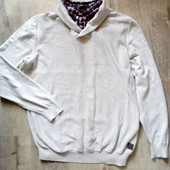 Фирменный свитер р.хл в хорошем состоянии