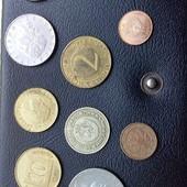 монети зарубіжні 10 шт. в колекцію