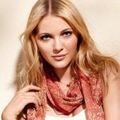 ☘ Мягкий шарф для стильного образа от Tchibo (Германия), размеры: 50х200 см