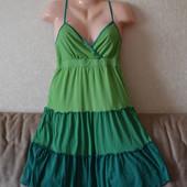 Сарафан (платье на бретелях) фирмы Colours of the world (Англия), р-р 38/40 евро, см. замеры