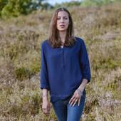 ☘ Мягусенькая и нарядная блуза от Tchibo (Германия), размеры наши: 42-44 (36 евро)