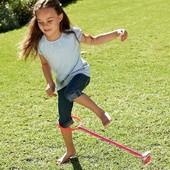 последняя!Современная скакалка на одну ногу LED PU