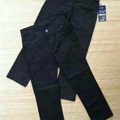 Коттоновые брюки для мальчика 9-11 лет, Goser, Турция! чeрные! Последние! Качество! См.замеры!