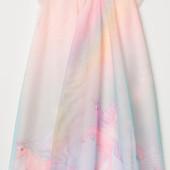 Нарядное сказочное платье от H&M Disney, размер