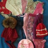 Пакет дівчачого одягу на 2-3 роки