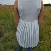 #плиссе#лето#next#майка#нарядно#размер 14