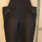 Чёрный джинсовый комбинезон Next Люксовый сток Новый