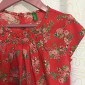 Платье х/б Benetton 6/7лет,120см