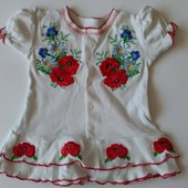Невероятно красивое платье вышиваночка