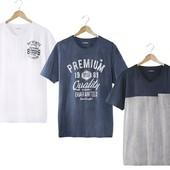 Стильная футболка от Livergy 56/58 баталл