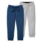 Набор теплых спортивных штанишек от бренда lupilu Германия,  на флисе!!! Лот 2 шт. Супер!!!