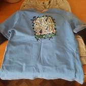 Мягусенькая футболка-батничек для мальчика+шорты! Описание!