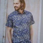 Шикарная летняя рубашка Watson's Германия размер М 39\40