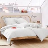 Супер качественный и стильный комплект постельного белья,наволочка с ушками коттон Перкаль Германия