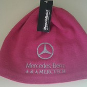 Фирменная новая шапка унисекс р. 55-58 цвета фуксии 50%шерсть.