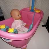 Веселые брызги ванна и пупс Zaps Baby Born