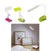 3 вида на выбор! Мощные переносные настольные Led лампы. Работаю от сети 220 V или от аккумулятора !