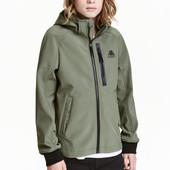 ✿Новое! c биркой! Бомбезная Softshell куртка H&M (Швеция) 146р, унисекс