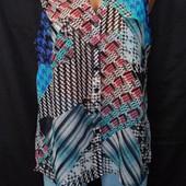 Легкая блузка на лето \ размер 48 смотрите замеры