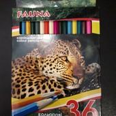 Цветные карандаши на 36 цветов