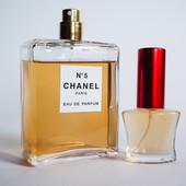 Оригинал Chanel N5. Отливант 10 мл в стеклянном флаконе. Парф вода