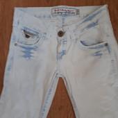 Очень стильные джинсы размер S. Лоты комбинирую.