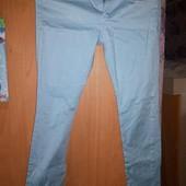 джинсы,голубой стрейч