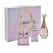 3*30мл. Супер набор парфюмов от Диор. Три вкуснейших аромата в одном. Идеальный подарок!