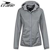 Крутая мембранная куртка ветровка с капюшоном Crane Германия евро 38