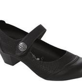Кожаные мягкие Footflexx туфли 36р 23.4см  на удобной застежке из Германии УП от 2х пар 0грн