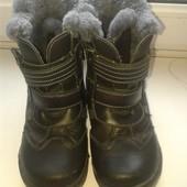 Зимние ботинки для мальчика на цигейке