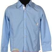 Хполковая рубашка для мальчика BoGi рост 166, 122, 128, 134, 140, 146 на выбор