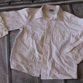 белая рубашка на мальчика, на утренники супер будет! 98 рост