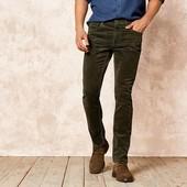 Livergy германия Вельветовые джинсы слим 52р