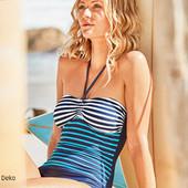 Полная распродажа!Шикарный моделирующий фигуру стильный купальник Blue Motion Германия евро 42