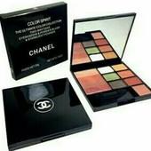 """Заканчивается! Набор для макияжа Chanel """"Color Spirit"""" 3 в 1-тени+пудра+румяна!"""